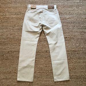 AEO Slim Straight Tan Jeans Sz 26